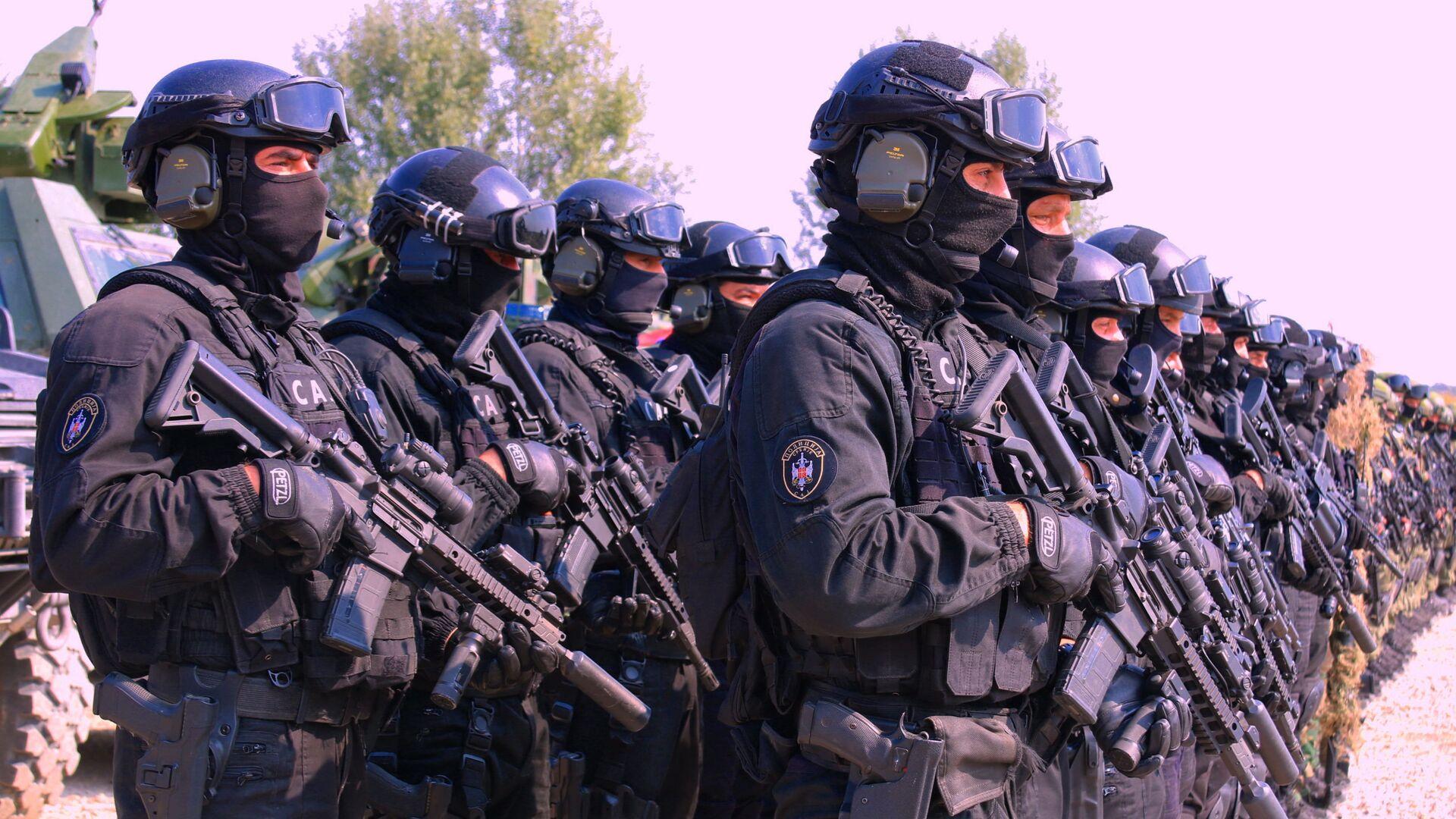 Specijalna antiteroristička jedinica (skraćeno SAJ) je specijalna policijska jedinica i spada među najelitnije. - Sputnik Srbija, 1920, 12.09.2021