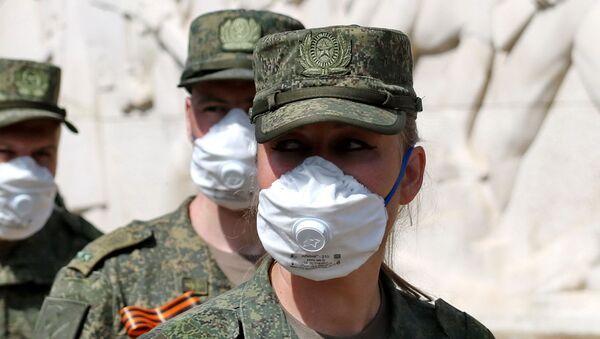 Pripadnica oružanih snaga Ruske Federacije - Sputnik Srbija
