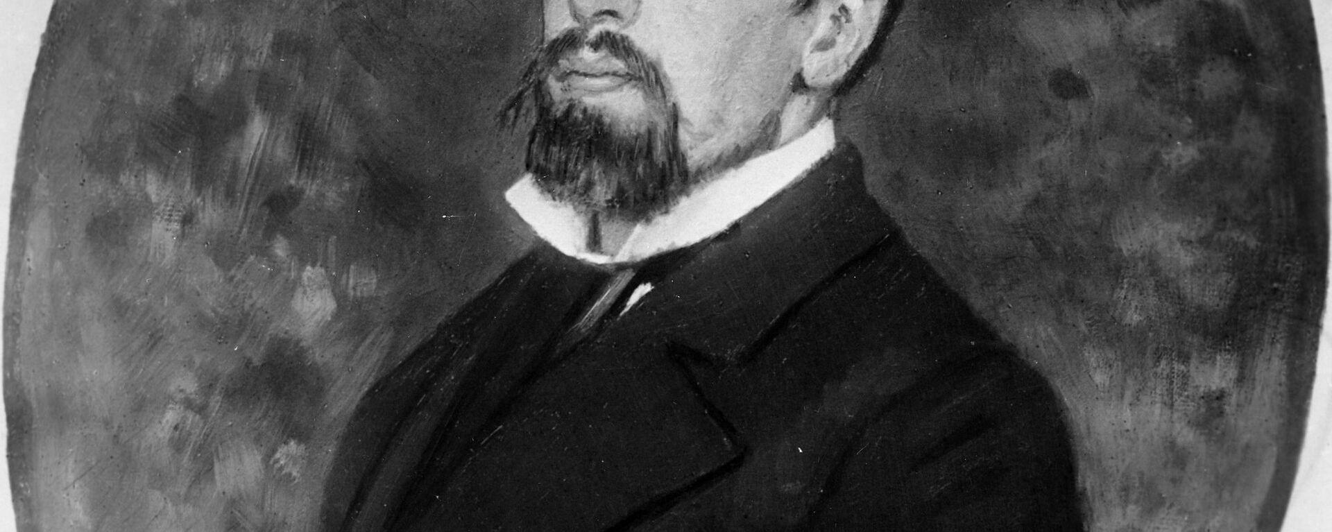 Портрет Василија Пољенова - Sputnik Србија, 1920, 20.09.2021