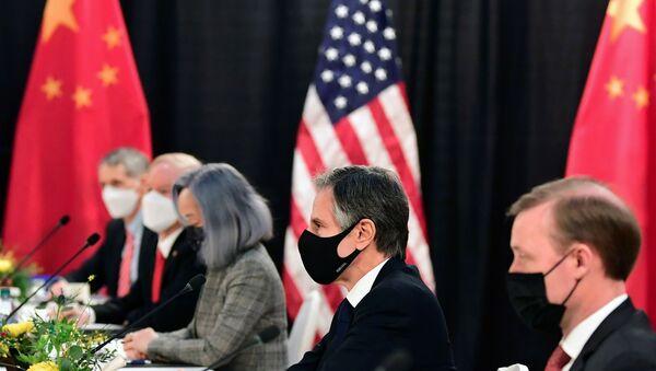 Razgovori Kine i Amerike na Aljasci - Sputnik Srbija