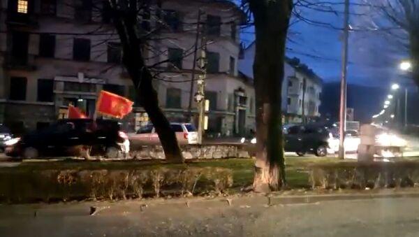 Auto-kolona na Cetinju - Sputnik Srbija