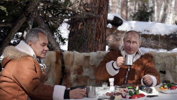 Путин у Сибиру - Sputnik Србија