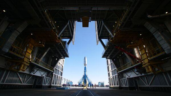 Ракета Сојуз на космодрому Бајконур - Sputnik Србија