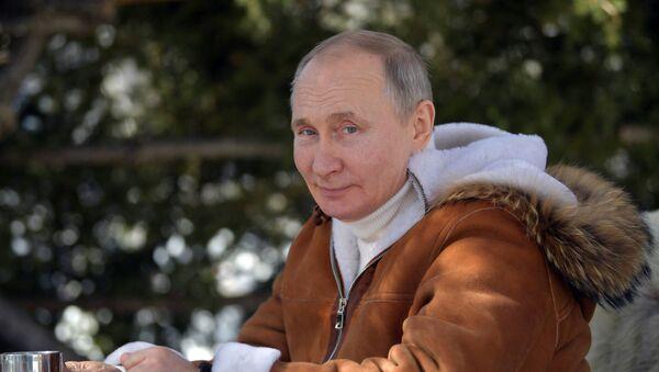 Odmor predsednika Ruske Federacije V. Putina u Sibiru - Sputnik Srbija