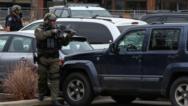 Policija na mestu pucnjave u Koloradu - Sputnik Srbija