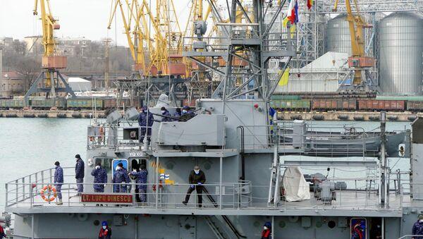 NATO ratni brodovi u luci Odesa - Sputnik Srbija