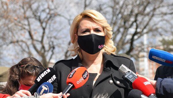 Ministarka Darija Kisić Tepavčević - Sputnik Srbija