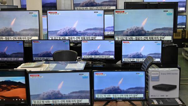 Вести о лансирању севернокорејске ракете у Сеулу - Sputnik Србија