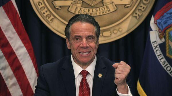 Ендрју Куомо, гувернер америчке државе Њујорк - Sputnik Србија