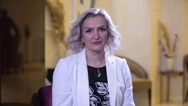 Jelena Borovinić Bojović, ministarka zdravlja u Vladi Crne Gore - Sputnik Srbija