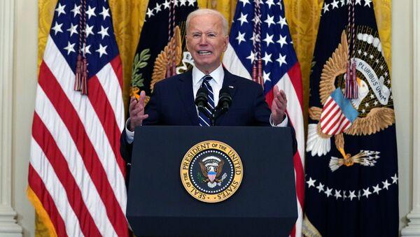 Амерички председник Џо Бајден - Sputnik Србија