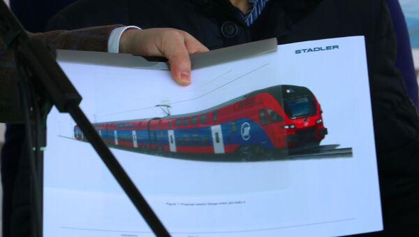 Fotografija dabl-deker vozova koje je Srbija naručila iz Švajcarske - Sputnik Srbija