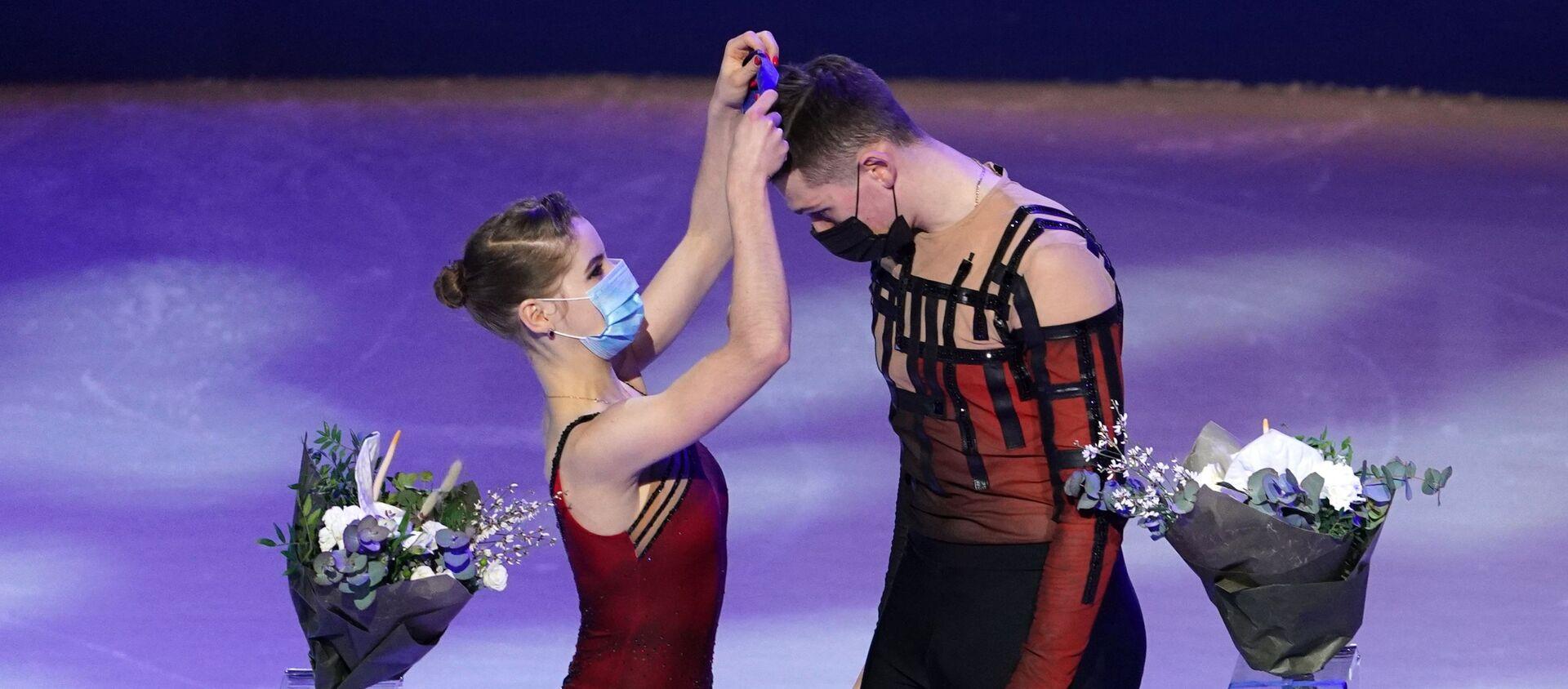 Анастасја Мишина и Александар Галјамов, светски шампиони у уметничком клизању - Sputnik Србија, 1920, 26.03.2021
