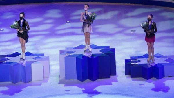 Победнице у појединачном клизању на Светском првенству у уметничком клизању 2021. године  - Sputnik Србија
