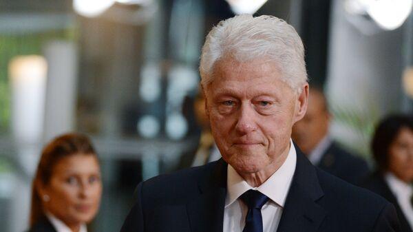 Bivši američki predsednik Bil Klinton - Sputnik Srbija