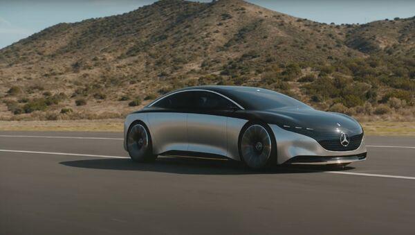 Mercedes EQS, novi električni model - Sputnik Srbija