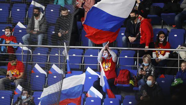 Ruski navijači - Sputnik Srbija