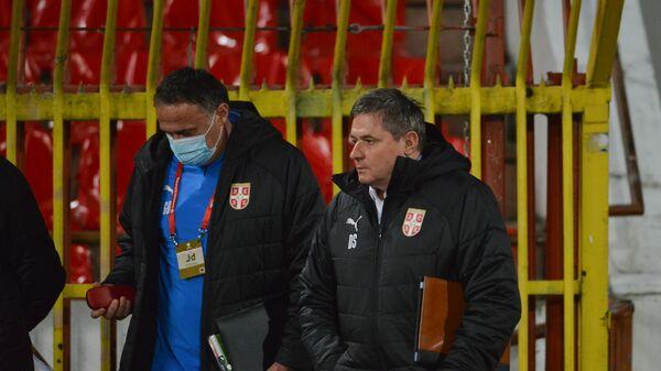 Dragan Stojković Piksi, selektor fudbalera Srbije - Sputnik Srbija