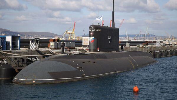 Podmornica Veliki Novgorod u Novorosijskoj pomorskoj bazi - Sputnik Srbija