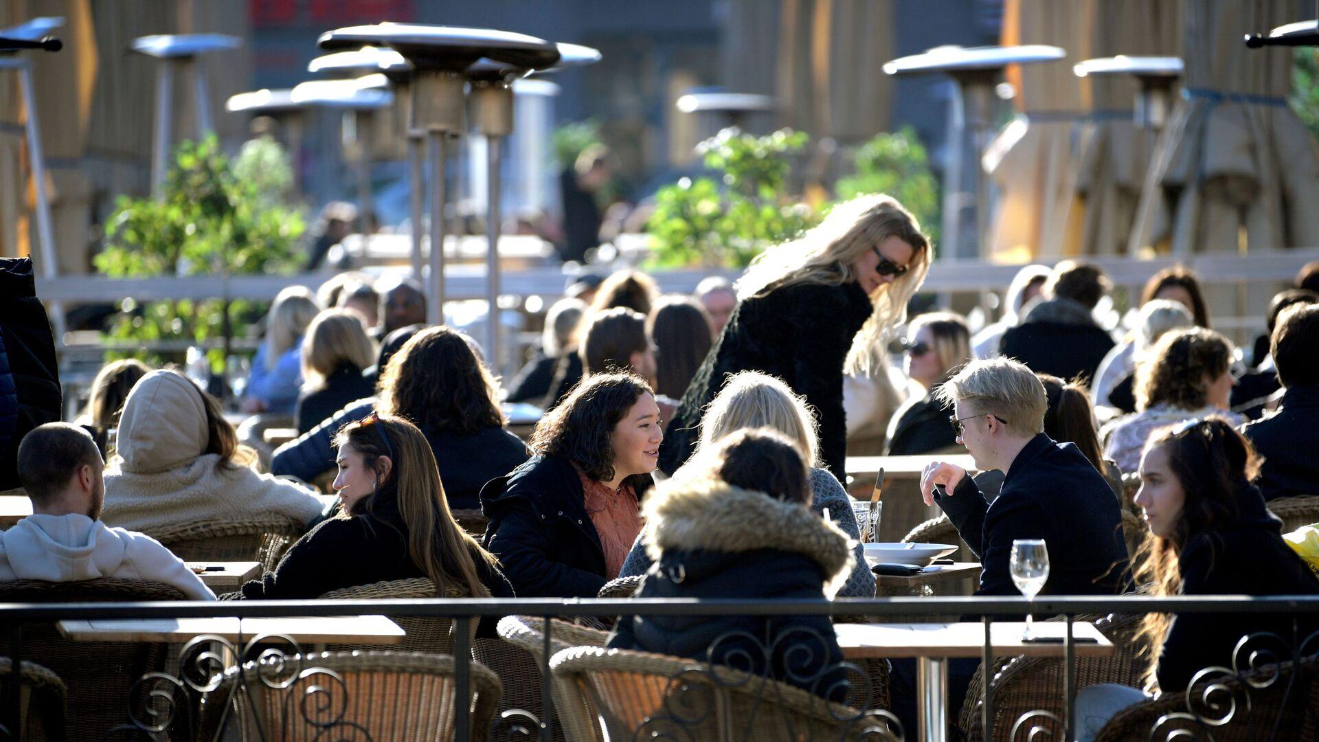 Sunčan dan u Stokholmu u toku pandemije, 24. mart 2021. - Sputnik Srbija, 1920, 15.09.2021
