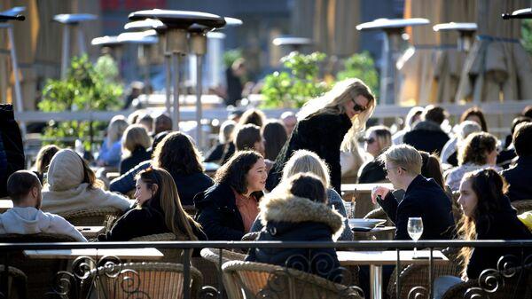Sunčan dan u Stokholmu u toku pandemije, 24. mart 2021. - Sputnik Srbija