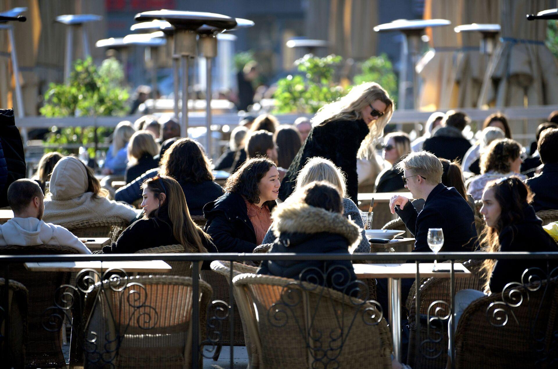 Sunčan dan u Stokholmu u toku pandemije, 24. mart 2021. - Sputnik Srbija, 1920, 18.09.2021
