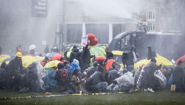 Demonstracije u Holandiji - Sputnik Srbija