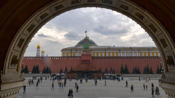 Zidine Kremlja i Crveni trg u Moskvi - Sputnik Srbija