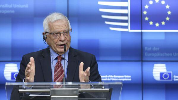 Visoki predstavnik EU za spoljnu i bezbednosnu politiku Žozep Borelj.  - Sputnik Srbija
