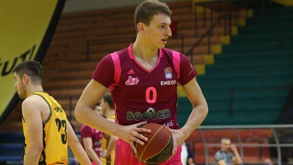 Košarkaš Mega sokerbeta, Nikola Jović - Sputnik Srbija