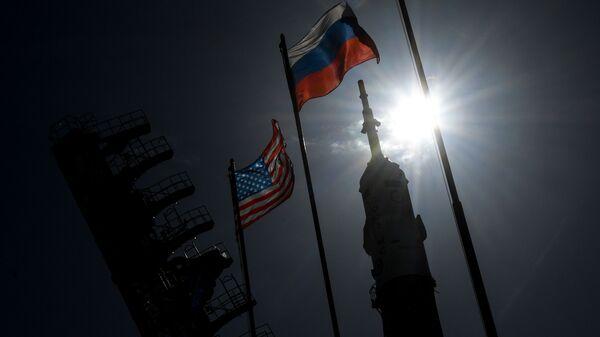 Zastave SAD i Rusije - Sputnik Srbija