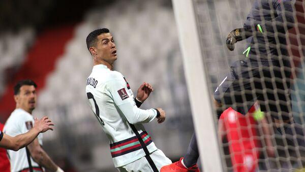 Кристијано Роналдо у дресу репрезентације Португалије - Sputnik Србија