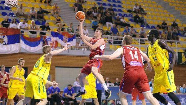 Srpski košarkaš Vojislav Stojanović - Sputnik Srbija