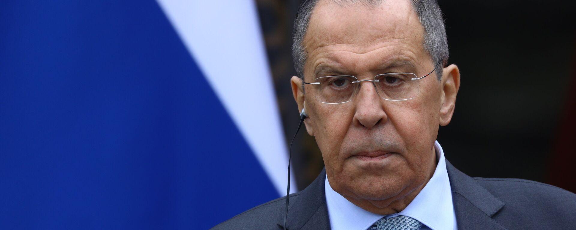 Ministar spoljnih poslova Rusije Sergej Lavrov - Sputnik Srbija, 1920, 06.04.2021