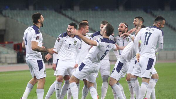 Fudbalska reprezentacija Srbije - Sputnik Srbija