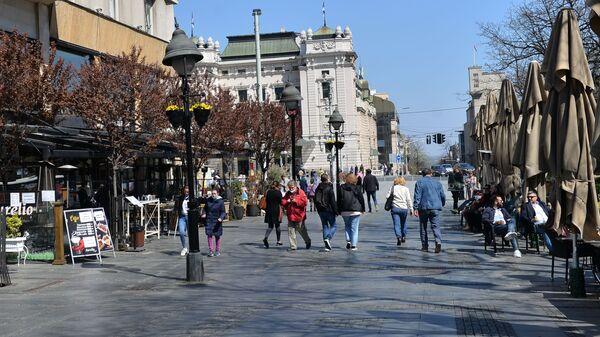 Лепо време измамило Београђане на улице - Sputnik Србија
