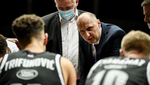 Trener KK Partizan Aleksandar Matović - Sputnik Srbija