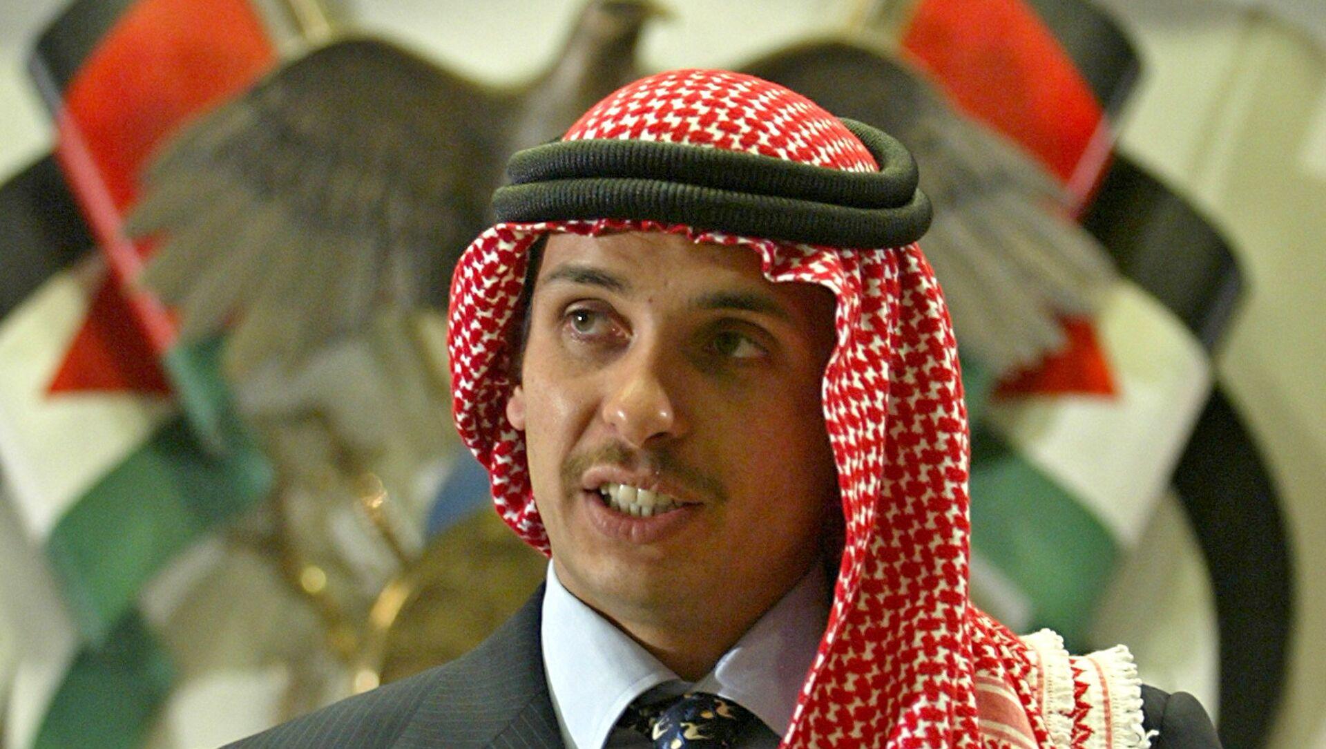 Јордански принц Хамза бин Хусеин  - Sputnik Србија, 1920, 04.04.2021