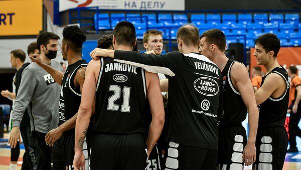 Košarkaši Partizana - Sputnik Srbija