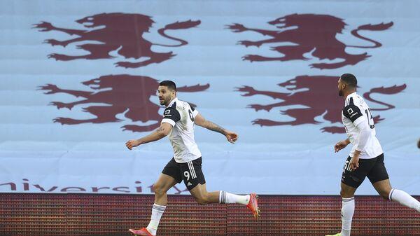 Aleksandar Mitrović proslavlja gol protiv Aston Vile - Sputnik Srbija