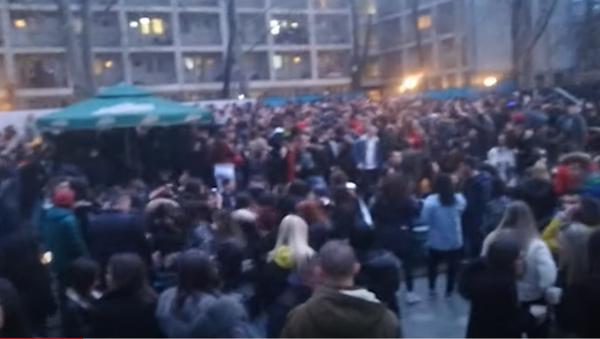 Slavlje studenata u Studentskom gradu - Sputnik Srbija