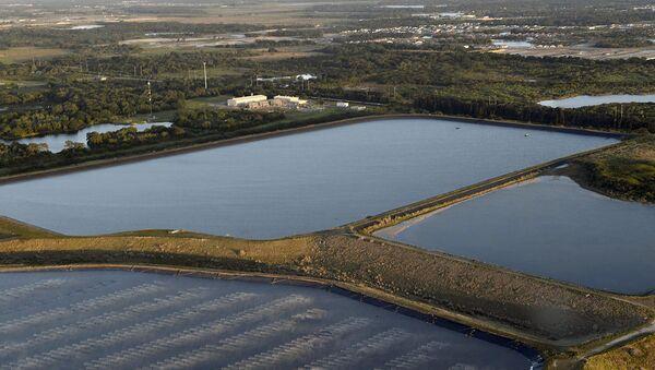 Odlagalište zatrovane vode bivšeg rudnika Pajni Point koje preti da poplavi okolinu na Floridi - Sputnik Srbija