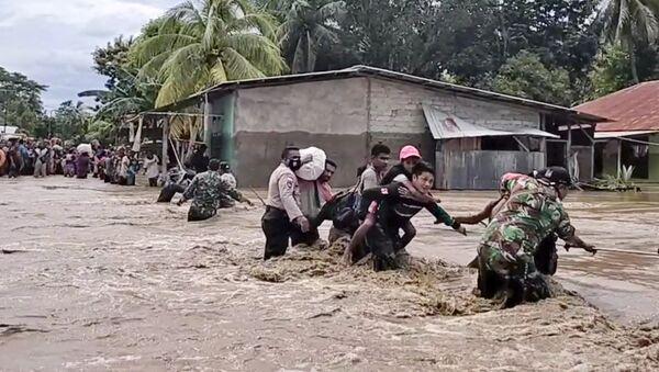 Poplave i klizišta u Indoneziji i Istočnom Timoru - Sputnik Srbija