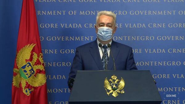 Здравко Кривокапић затражио смену министра правде због ставова о Сребреници - Sputnik Србија