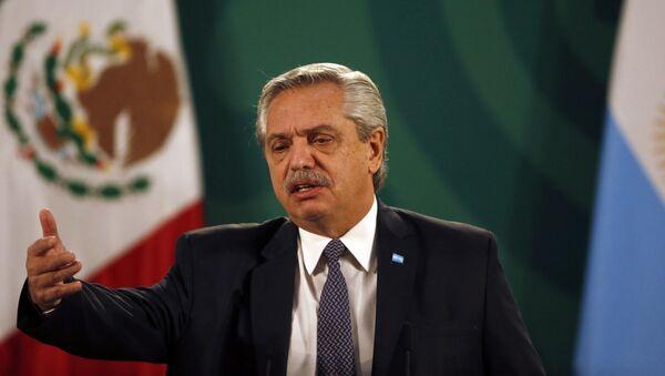 Predsednik Argentine Alberto Fernandez - Sputnik Srbija