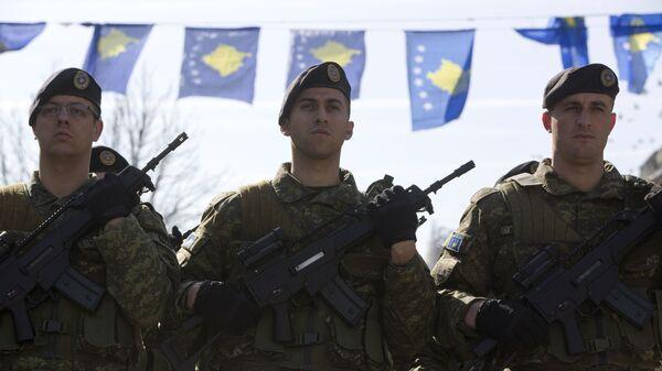 Припадници косовских безбедносних снага - Sputnik Србија