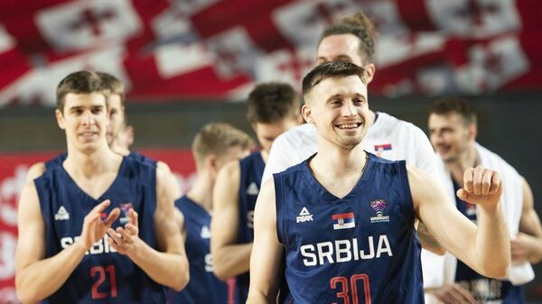 Srpski košarkaš Aleksa Avramović - Sputnik Srbija
