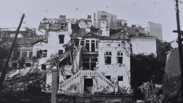 Jedna od fotografija na izložbi na Trgu republike   - Sputnik Srbija