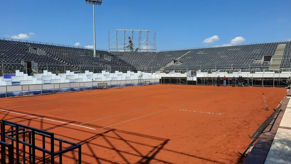 Glavni teren teniskog kompleksa na Dorćolu - Sputnik Srbija