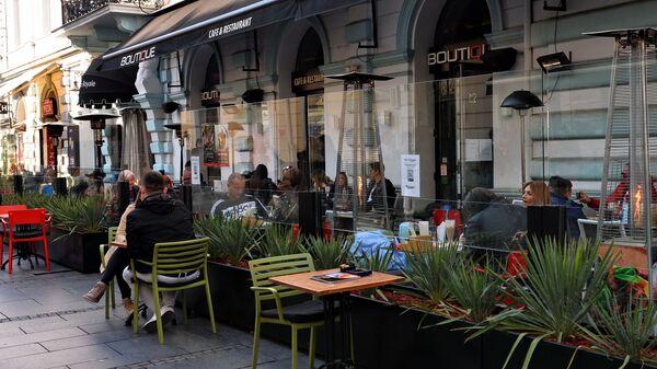 Otvorene bašte kafića i restorana - Sputnik Srbija
